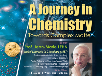 A Journey in Chemistry - Towards Complex Matter