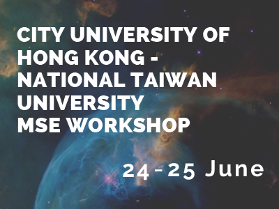 City University of Hong Kong - National Taiwan University MSE Workshop