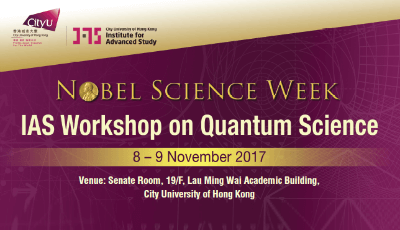 IAS Workshop on Quantum Science