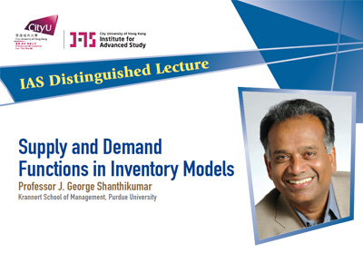 Supply and Demand Functions in Inventory Models