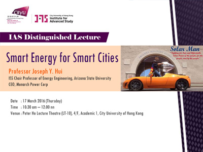 Smart Energy for Smart Cities