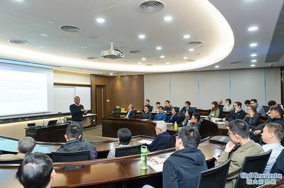 高等研究院舉辦首場講座