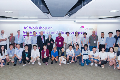 IAS workshop explores gene dynamics and chromosomes