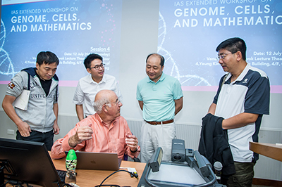 IAS Extended Workshop on Genomes, Cells, and Mathematics