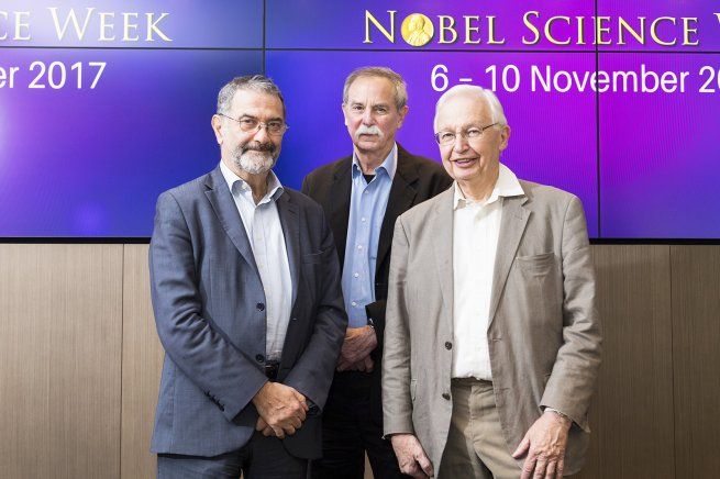 Meeting the Nobel Prize Winners at CityU