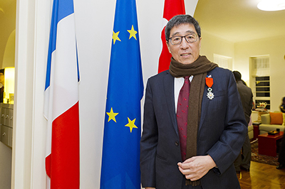 HKIAS Senior Fellow Professor Way Kuo receives high French honour