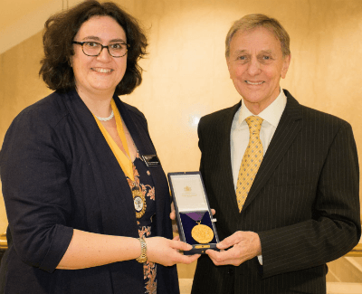IAS Senior Fellow Professor Sir Colin Blakemore receives College of Optometrists award